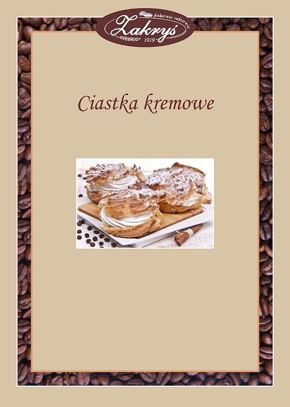 Ciastka kremowe